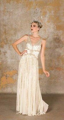 Fashion Inspirations and Aspirations / 1920s Style Wedding Dress Inspiration » N...