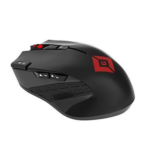 Satechi® Edge Souris Gaming Sans Fil 800 DPI, 1600 DPI, 2400 DPI, 4000 DPI avec 500Hz de taux de retour (Non Rechargeable): Mode Jeu En…