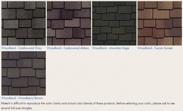 Best Gaf Woodland Shingles Color Options For The Home 640 x 480