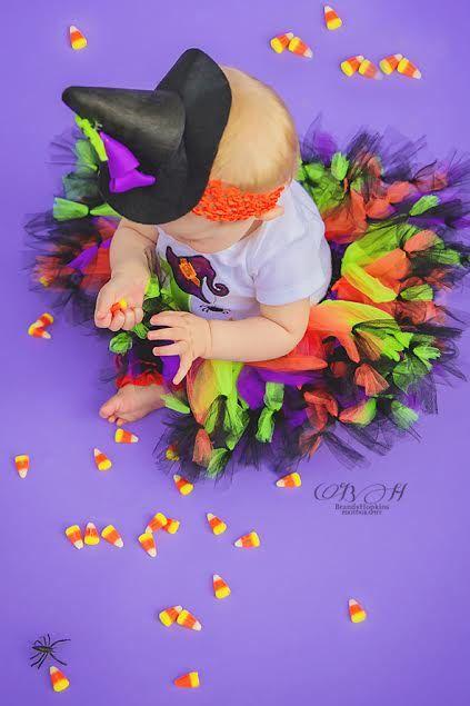 Witch tutu- Girls Witch Costume- Girls Witch Dress- Baby Girl Witch Costume- Baby Witch- Baby girl Halloween Costume- Baby Witch Tutu by SewsnBows on Etsy https://www.etsy.com/listing/245002355/witch-tutu-girls-witch-costume-girls