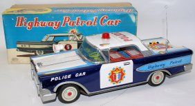 Highway Patrol Police Car made by Daito, Japan