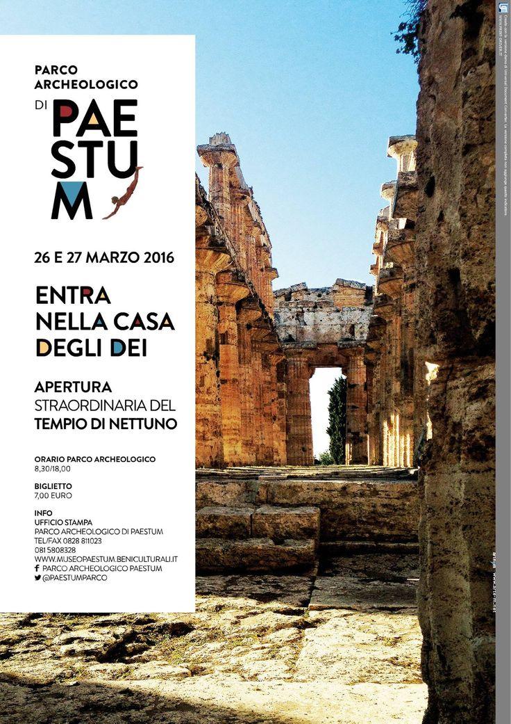 In occasione del week end di Pasqua, il Tempio di Nettuno sarà aperto al pubblico. https://www.facebook.com/891719437585244/photos/a.894765743947280.1073741849.891719437585244/976923992398121/?type=3&theater