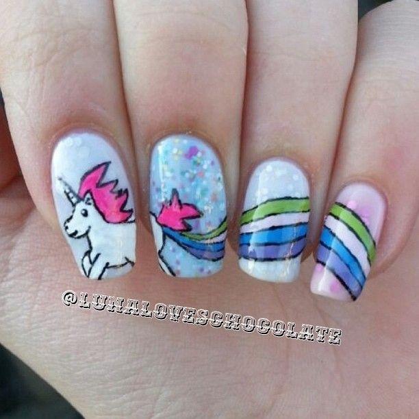 Unicorn Nail Ideas For Kids Maxicub Com