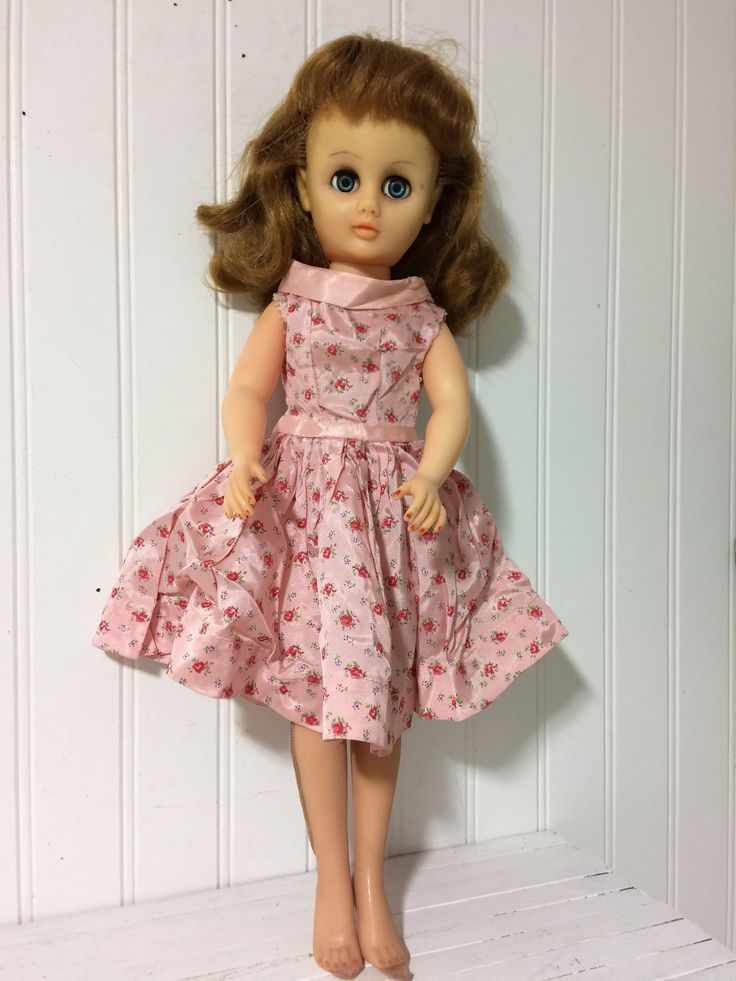 A personal favorite from my Etsy shop https://www.etsy.com/ca/listing/554383092/1950s-miss-revlon-canada-18-doll-plus