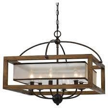 Craftsman style chandelier