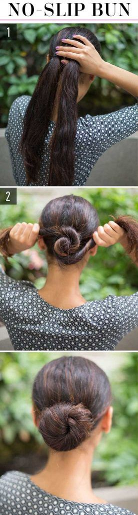 The lazy women always have the smart way to make their hair much more charming!here I will introduce some way for you! Picture 1 1.Gather a section of hair from both sides of your head in line with your temples, and put the sections into a small pony in the back. Then, braid the pony …
