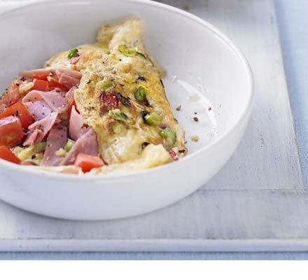 If you're in need of a protein boost try making this healthy omelette for breakfast, using fewer yolks lowers the cholesterol