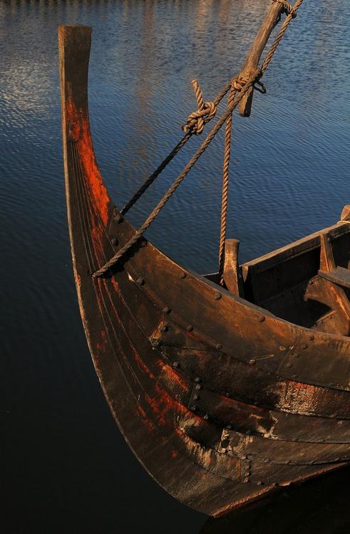 Itsallaboutdreams: Viking Boat Detail