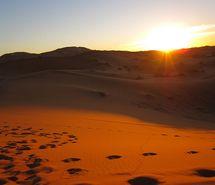 desert, morocco, sky, sun, sunrise