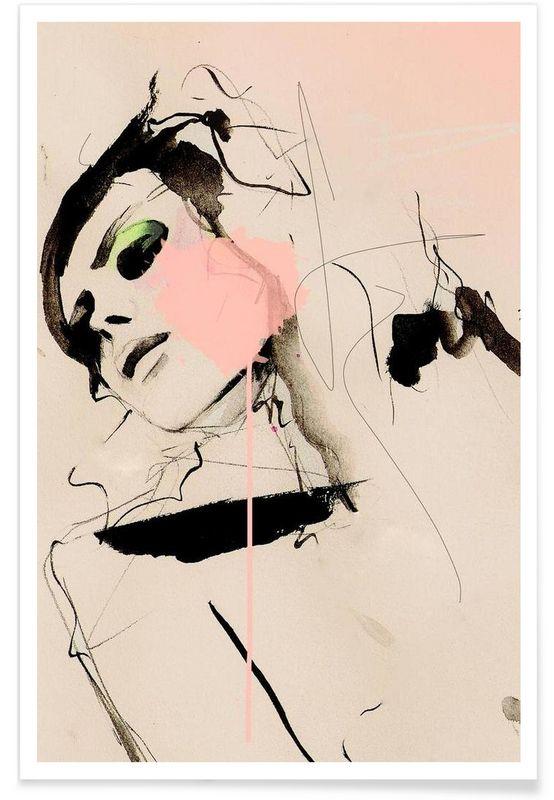 Hence als Premium Poster door Leigh Viner | JUNIQE