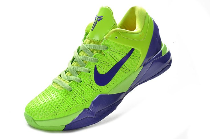 Nike Zoom Kobe 7 Elite Grinch Fluorescent Green Club Purple Shop Kobe Shoes  2013