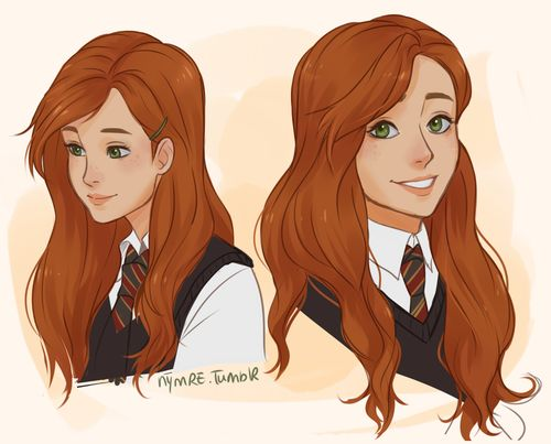 lily evans by nymre . Character Sketch / Drawing Illustration Inspiration