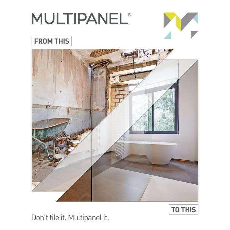 #TransformationTuesday - Providing beautiful aesthetics up and down the country, Multipanel is the no.1 choice for #bathroom interiors.