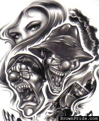 23 best malandrão images on pinterest tattoo ideas clown tattoo
