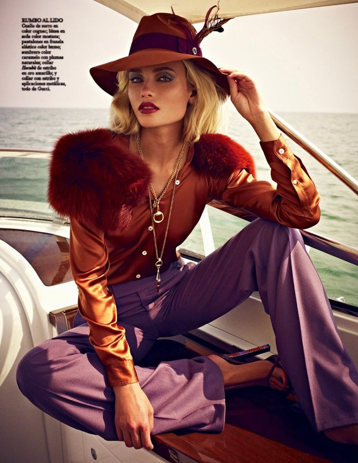 Natasha Poly by Mariano Vivanco in Gucci