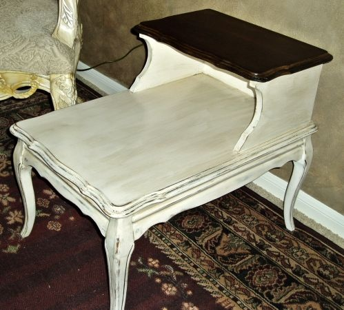 Houston: French Country Provincial Side Tables $150   Http://furnishlyst.com