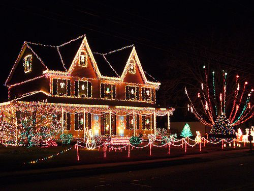 House Decorated For Christmas 350 best beautiful christmas light images on pinterest | christmas