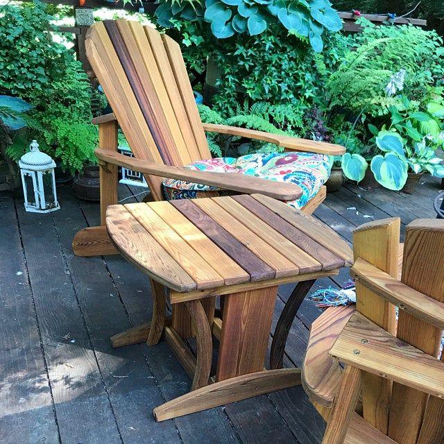 2 Adirondack Garden Chair Kits Unfinished Etsy S Izobrazheniyami