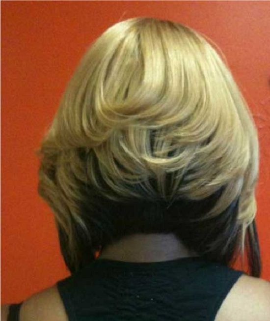 the back of a bob hairstyle for black women | New Hairstyles Ideas