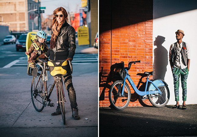 Nova York é uma cidade culturalmente bastante diversa e isso pode ser observado também no trânsito quando, principalmente durante o verão, as bicicletas tomam conta das ruas. Diferentes modelos e cores podem ser vistas em meio aos carros e táxis da cidade. A bike torna-se o meio de transporte de estudantes, trabalhadores, mães e até mesmo de executivos. Foi pensando nos diferentes estilos que o fotógrafo Sam Polcer decidiu fotografar os ciclistas de Nova York.Na série intitulada Preferred…