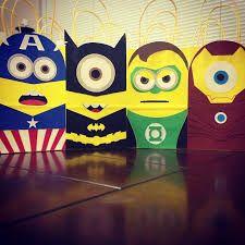 minion superhero party - Google Search