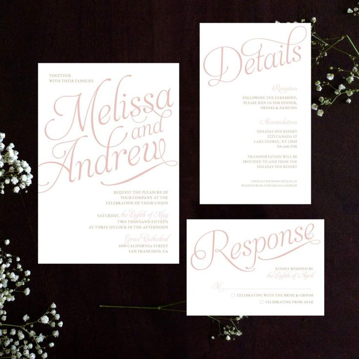 17 Best ideas about Wedding Invitation Wording – Sample Wedding Invitation Format
