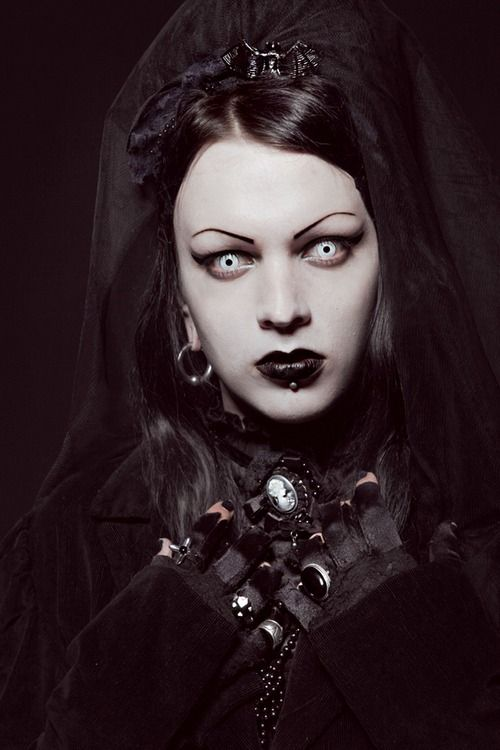 17 Best images about Goth/Metal Makeup & FX Contacts on ...