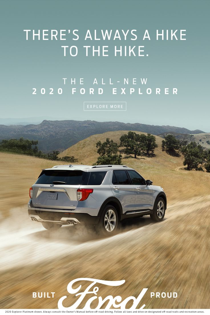 The 2020 Ford Explorer in 2020 2020 ford explorer, Ford