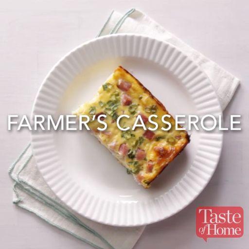 Farmer's Casserole Recipe