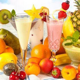Settimana dietetica 4 Smoothies Fase 1-2-3 Essere a dieta diventa un piacere con le bevande fresche iperproteiche e ipocaloriche! Fragola/Banana - Mango/Frutto della passione - Fragola/Lampone..