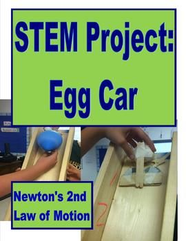 This project correlates with my unit on forces and motion in my physical science middle school class. Over a span of three days, students design a car that will protect a raw egg from breaking when it hits the ground after being on a ramp. The students will then test and modify their design.