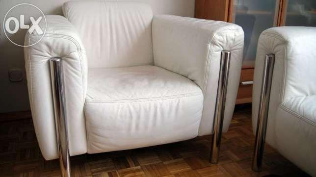 Skórzany Zestaw Wypoczynkowy ZewDivani Sofa Fotel skóra naturalna Warszawa - image 1