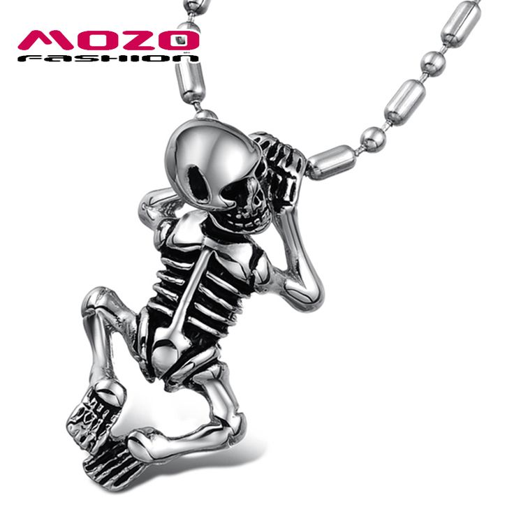 Child Skull Chain Pendant //Price: $19.99 & FREE Shipping //     #hashtag3
