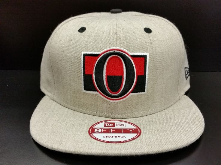 Ottawa Senators Snapback Custom Exclusive Heritage Heathered Oatmeal