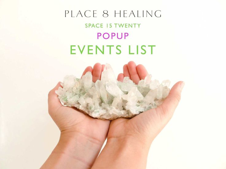 CLASSES - WORKSHOPS - EVENTS for the PLACE 8 HEALING POPUP at @SPACE15TWENTY are now available to sign up!   ANGELS 411 WORKSHOP - Learn about all the different angels and how to work with them in your life. With Sherri Zebeck  MUSICAL TRACINGS - A musical performance where the musicians never know what songs or sounds they will be hearing in advance. The audience only hears what the musicians are playing and none of the original sound source thus creating a tracing of the sound source…