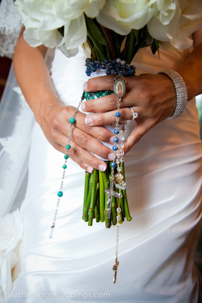 Say A Rosary Before Wedding Or Have Embellished In Like This Picture For Good