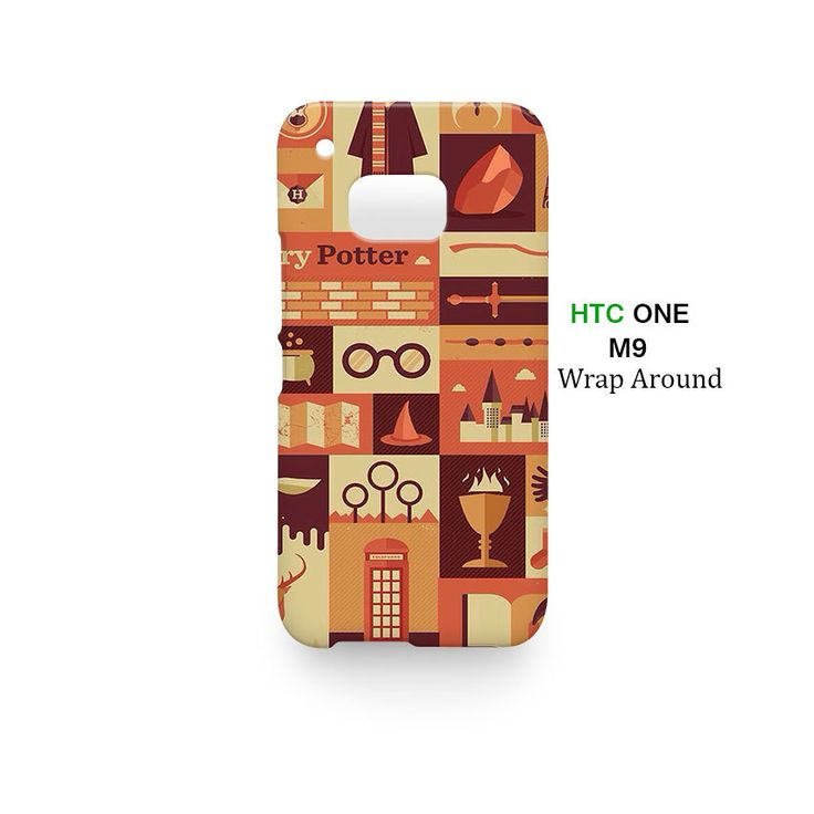 Harry Potter Collage HTC One M9 Case Cover Wrap Around