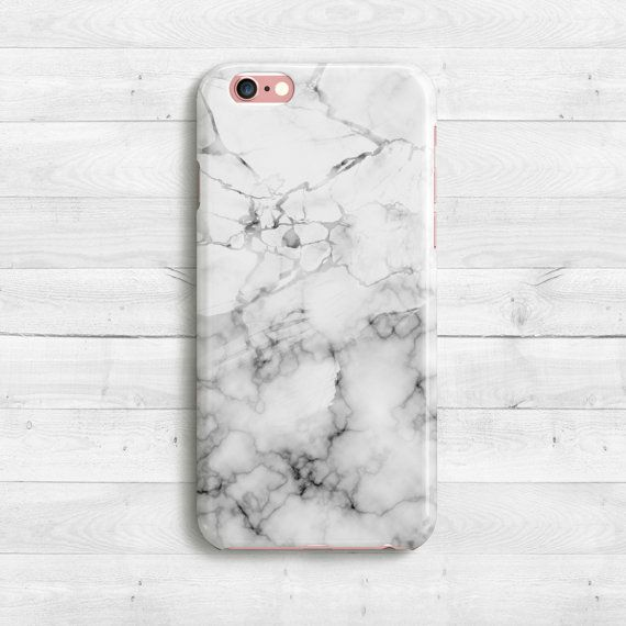White Marble Case iPhone SE iPhone 6s 6s plus by casesfactory
