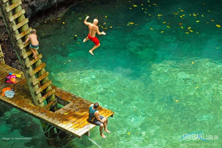 To Sua Ocean Trench, Upolu, Samoa is all natural swimming ...