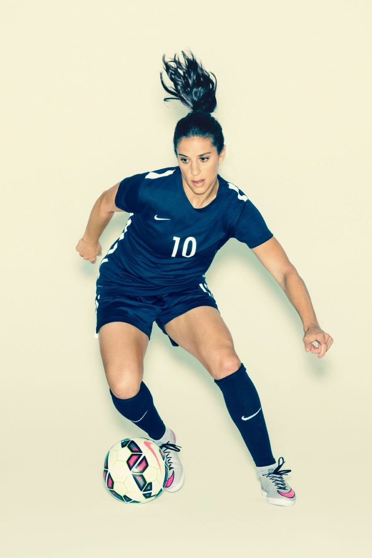 After finally seizing the spotlight with her World Cup hat trick, Carli Lloyd has a new trick in mind: becoming the best soccer player ever.