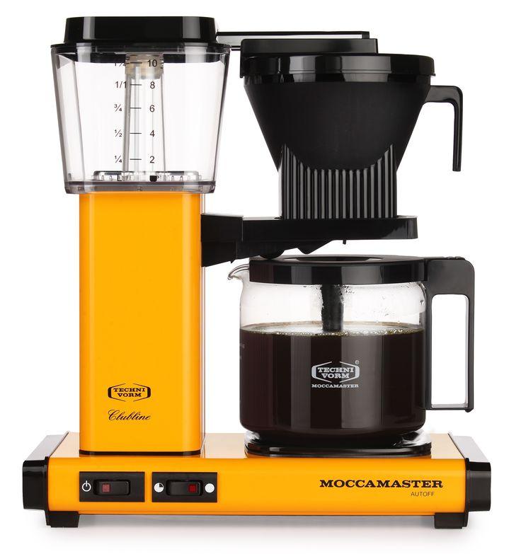 Moccamaster KBG 741 A0 ist ein Garant für gute Laune: einmal wegen des vorzüglichen Kaffees und einmal wegen der tollen Farbe