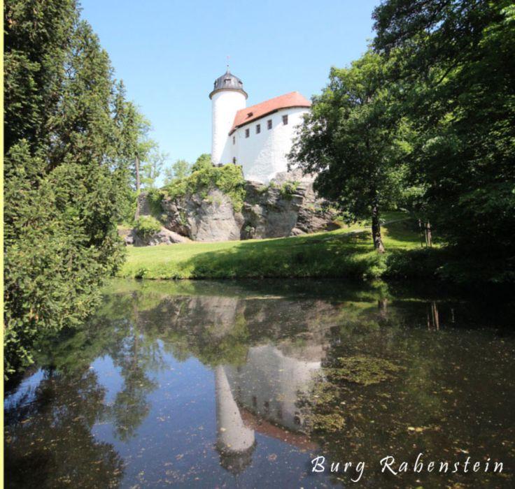 Die Burg Rabenstein bei Chemnitz