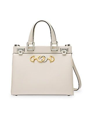 8b00369b462 Gucci Small Borghese Leather Top Handle Bag