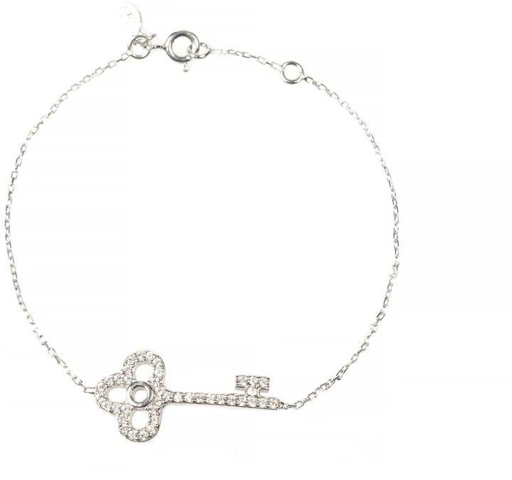 Latelita London - Key Bracelet Silver