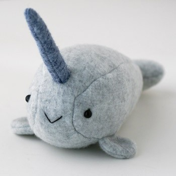 baby narwhale