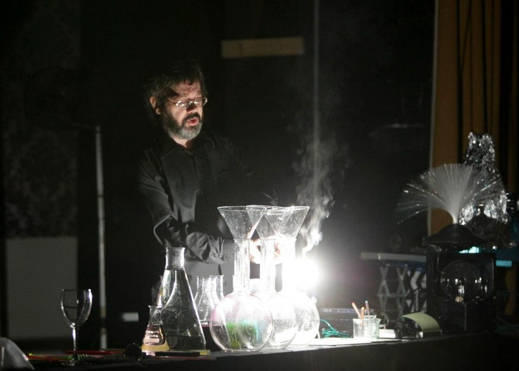 Dr Peter Douglas (College of Engineering) studies photochemistry (the chemical effects of light) - its applications stretch from electronics and medicine,  to clean water and energy.