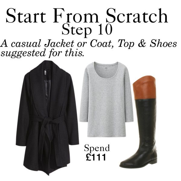 Start From Scratch - Step 10 by charlotte-mcfarlane on Polyvore featuring Uniqlo, H&M and Office