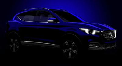 MG Teases Kleine ZS SUV Ahead Of Guangzhou Auto Show Debüt China Guangzhou Auto Show MG New Cars SUV UK