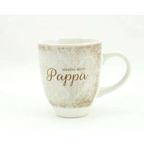 Verdens beste pappa kopp med tekst