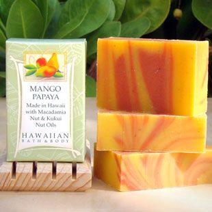 Love this Mango Papaya soap. Grandma swears on this :) Her skin is gorg! Face and body